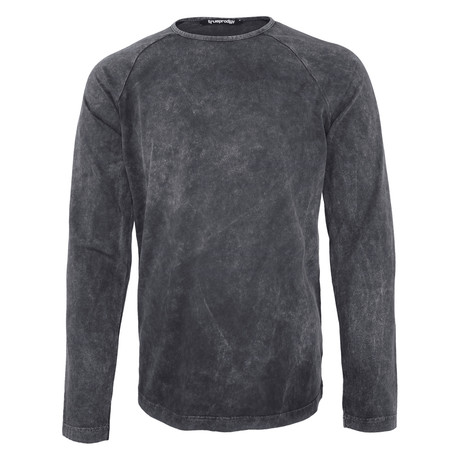 Tristan Long Sleeve Shirt // Anthracite (S)