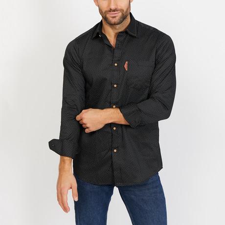 Julian Long Sleeve Button-Up Shirt // Cambridge Blue (Small)
