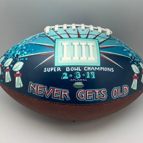 Patriots Football // Super Bowl 2019