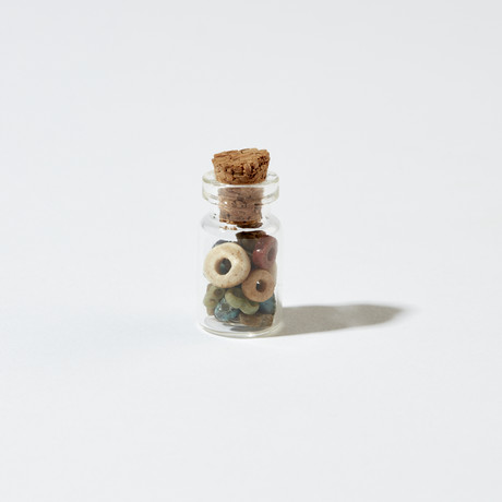 Small Bottle of Ancient Egyptian Beads