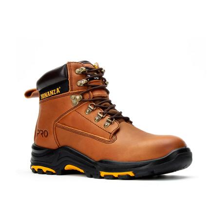 Bonanza // Men's 6'' Pro Boots // Brown (US: 5)