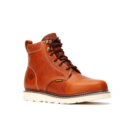 Bonanza // Men's 6'' Round-Toe Wedge Boots // Light Brown (US: 5)