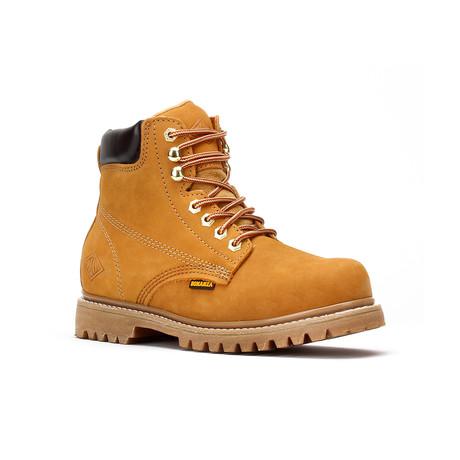Bonanza // Men's 6'' Round-Toe Boots // NubuckTan (US: 5)