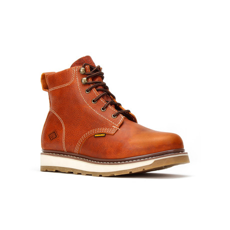 Bonanza // Men's 6'' Dual Density Round-Toe Boots // Light Brown (US: 5)