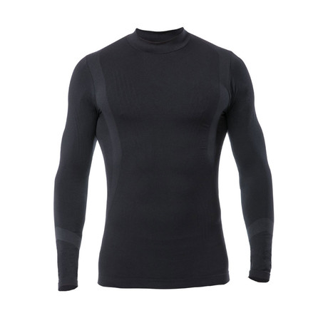 Iron-Ic // Long Sleeve Thermal T-Shirt // Black (S/M)