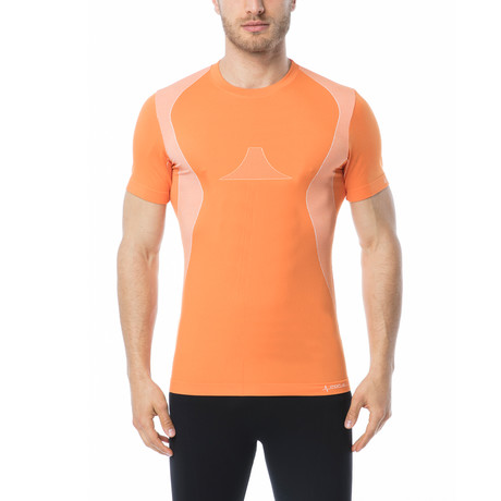 Iron-Ic // Genius Short Sleeve T-Shirt // Orange (S/M)
