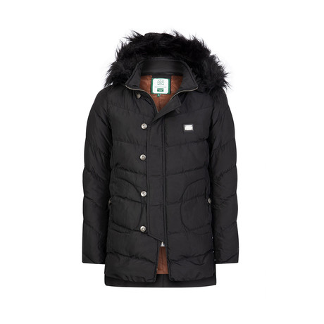 Satra Winter Long Coat // Black (S)