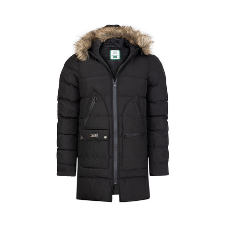 Santano Winter Long Coat // Black (S)