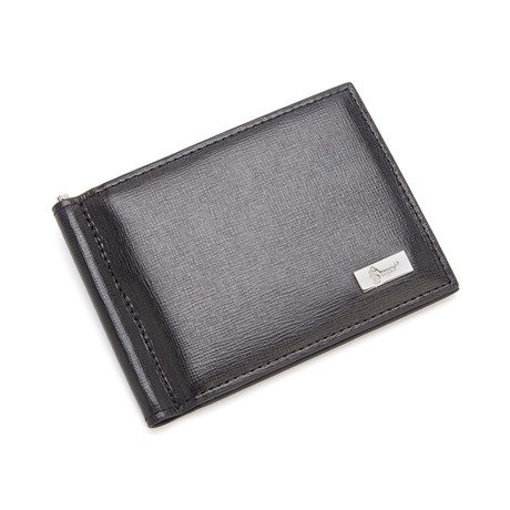 RFID Blocking Money Clip Wallet // Black