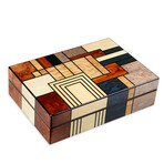 Gurkha Art Deco Series // Humidor (Stripes)