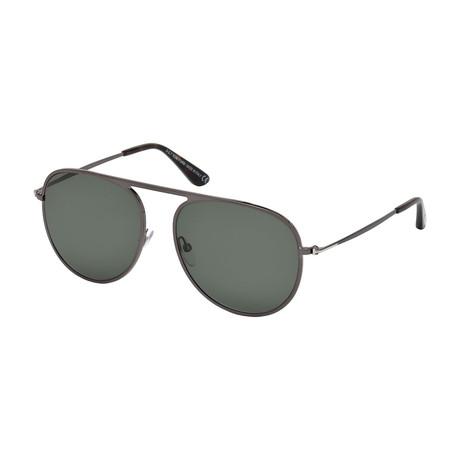Men's Polarized FT0621 Sunglasses // Gray