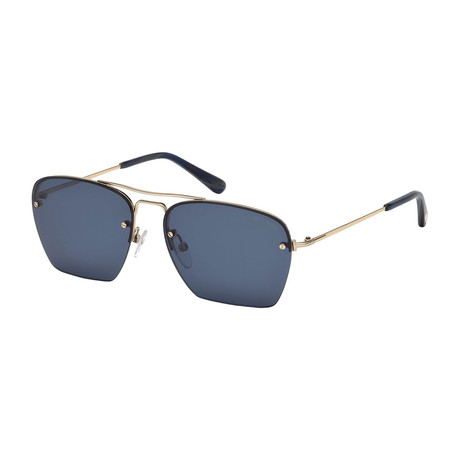 Men's Walker Sunglasses // Gold + Gray