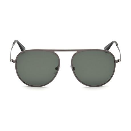 Tom Ford // Men's Polarized FT0621 Sunglasses // Gray