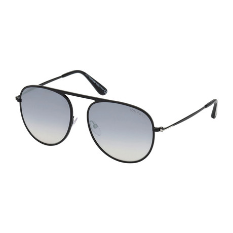 Men's FT0621 Sunglasses // Gunmetal + Gray Gradient