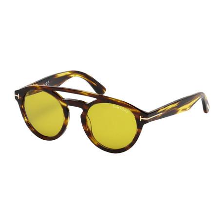 Men's Clint Sunglasses // Tortoise + Brown