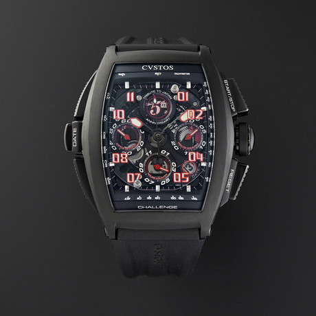 CVSTOS Chronograph Automatic // 10002CH5THEN 01 // Store Display