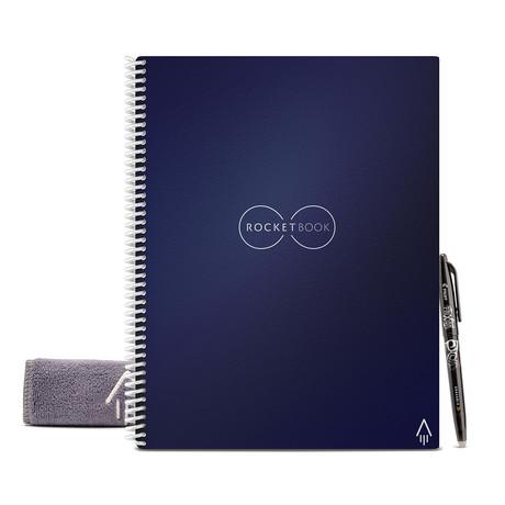Everlast Notebook + Pen Station Bundle // Lined // Dark Blue
