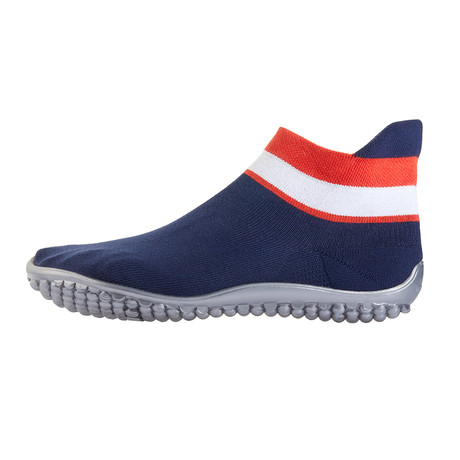 Barefoot Sneaker // Blue + Red + White (Size XS // 4.5-5.5)