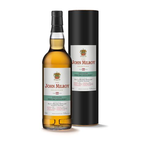 John Milroy Allt a Bhainne 22 Year Scotch Whisky