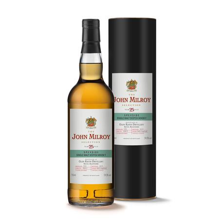John Milroy Glen Keith 25 Year Scotch Whisky