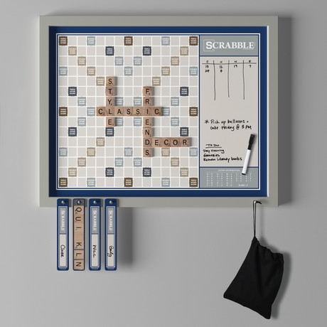 Wall Scrabble Deluxe 2-in-1