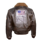 Top Gun® Official Signature Series Jacket // Brown (L)