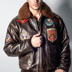 Top Gun® Official Signature Series Jacket // Brown (2XL)
