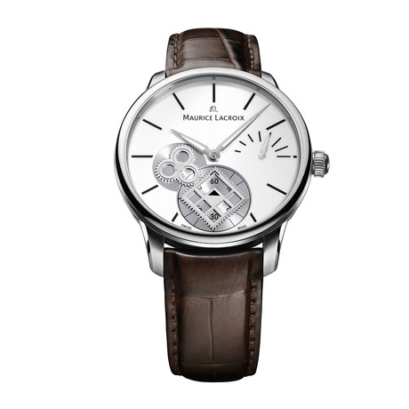 Maurice Lacroix Masterpiece Square Wheel Automatic // MP7158-SS001-101-2