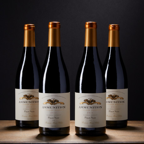 2017 Founder's Reserve Pinot Noir // Set of 4