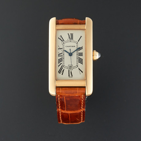 Cartier Tank Americaine Automatic // W2620030 // Pre-Owned