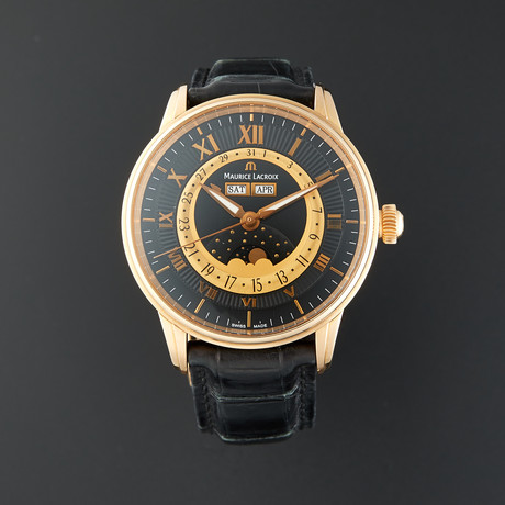 Maurice Lacroix Masterpiece Phase De Luna Automatic // MP6428-PG101-31E // Pre-Owned