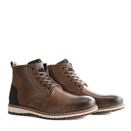 Men's Myken Shoe // Dark Brown (Euro: 40)