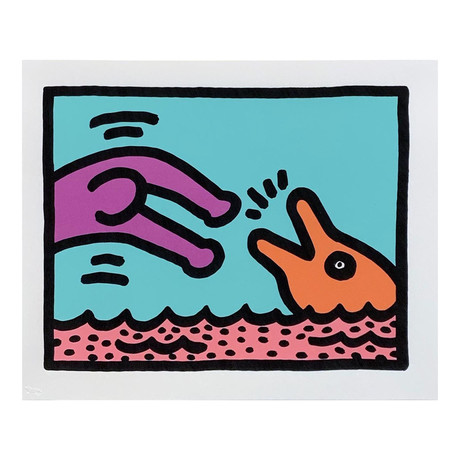 Keith Haring // Pop Shop V (A) // 1989