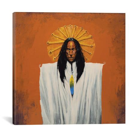 """Sun Spirit Shaman (12""""W x 12""""H x 0.75""""D)"""