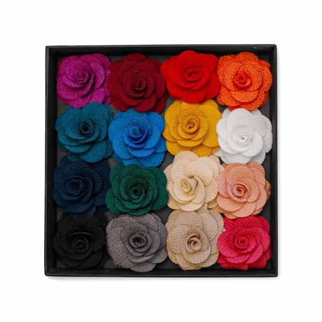 In Full Bloom Lapel Pin Box // Multicolor
