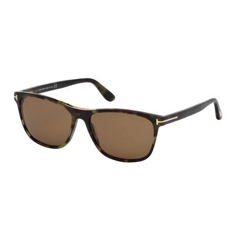Men's Nicolo Sunglasses // Colored Havana + Roviex