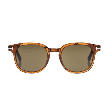 Men's Frank Sunglasses // Tortoise + Brown