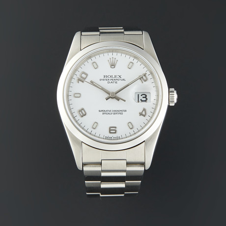 Rolex Date Automatic // 15200 // Z Serial // Pre-Owned