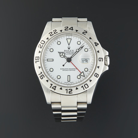 Rolex Explorer II Automatic // 16570 // D Serial // Pre-Owned