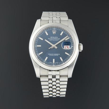 Rolex Datejust 36 Automatic // 116200 // Scrambled Serial // Pre-Owned