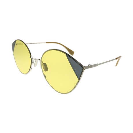 Fendi // Women's 0341 Sunglasses // Gold