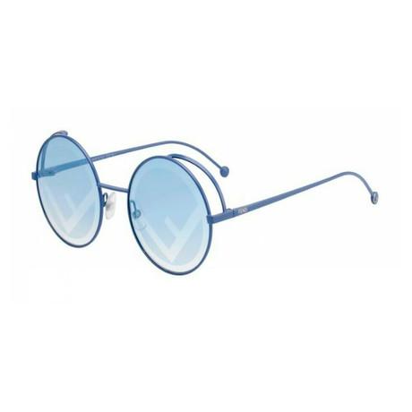 Fendi // Women's RAMA Sunglasses // Blue