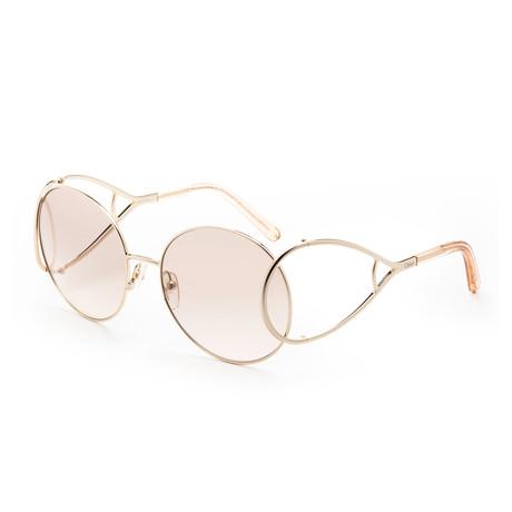 Chloe // Women's CE124 Sunglasses // Gold