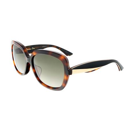 Christian Dior // Women's FLANEL Sunglasses // Black
