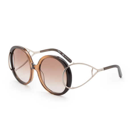 Chloe // Women's CE703 Sunglasses // Brown