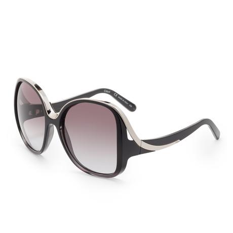 Chloe // Women's CE714 Sunglasses // Black