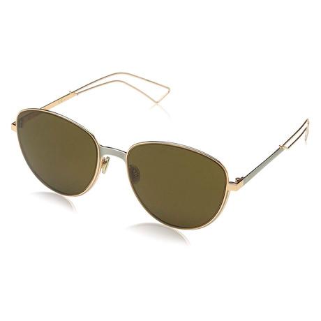 Christian Dior // Women's ULTRA Sunglasses // Matte Gray + Gold