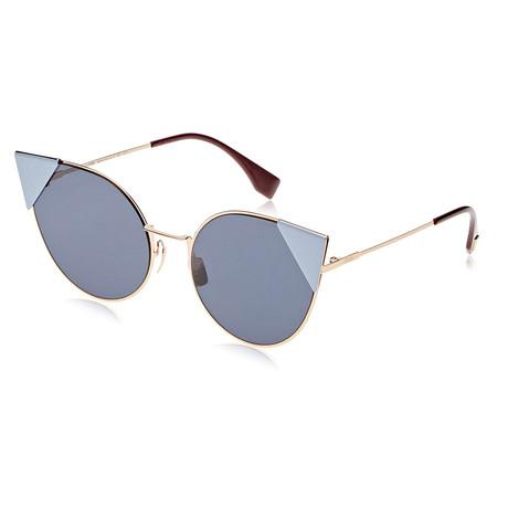 Fendi // Women's 0190 Sunglasses // Rose Gold