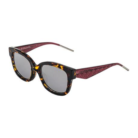 Christian Dior // Women's VERY Sunglasses // Burgundy Havana