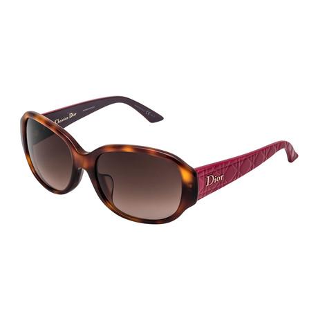 Christian Dior // Women's LADY Sunglasses // Pink Havana